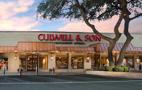 Home - Culwell & Son Dallas | Men's Store | Custom Suits
